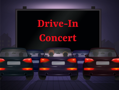 Drive-In Band Concert