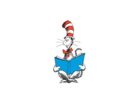 Cat in the Hat reading